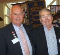 District Governor Bob Parkinson – DG Club Visit