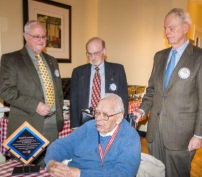 Robert D Schapiro – 50+ yrs of Rotary Service Award